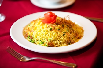Best Indian Rice - Peas pullao Rice