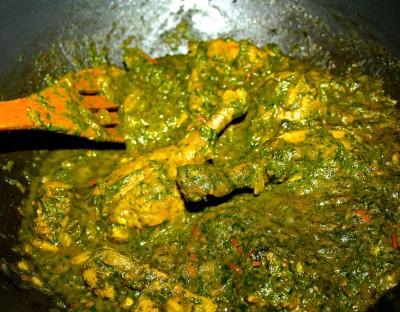 Saag Chicken
